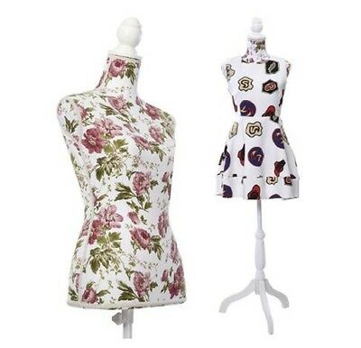 """Female Dress Form Cloth Display Mannequin Stand Base Pattern Body 34""""26.7""""35.4"""""""