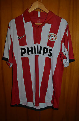 Psv Eindhoven 2006/2007 Home Football Shirt Jersey Maglia Nike Kluivert Era