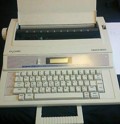 Silver Reed EX133MD Electric Electronic Typewriter