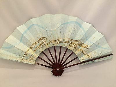 Maiougi, Sensu, Fan for Japanese Traditional Dance,the Flow of Water
