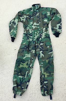Camouflage GORE-TEX WATERPROOF SUIT, Military HALO Skydiving