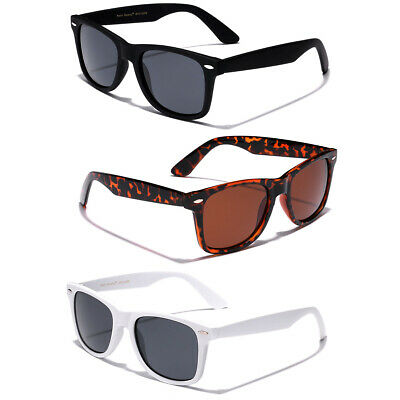 POLARIZED Mens Womens Vintage Retro 80s Sunglasses Fishing Golf Glasses