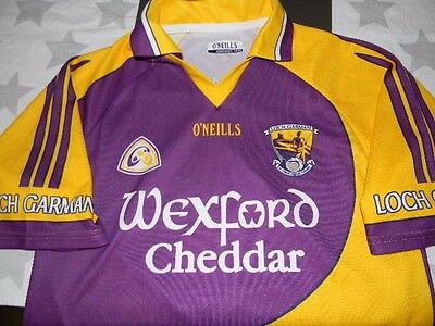 LOCH GARMAN Gaelic football jersey men's medium Wexford Ireland O'NEILLS