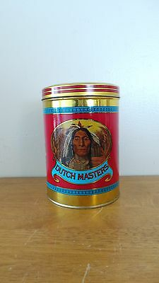 Dutch Masters Cigar Tin - held 25 Panetellas warrior on front