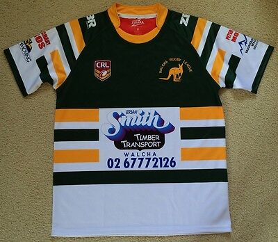 New Walcha CRL Country Rugby League Jersey Mens M