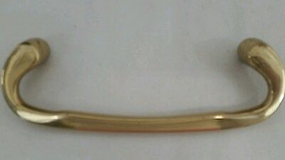 "Brass handle Drawer Pull 6"" cabinet furniture Hardware"