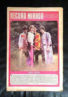 Record Mirror (1967) The Who, The Beatles, Bee Gees, Herd, Hollies, John Baldry