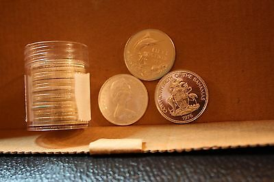 Lot of 20 Silver Bahamas 50 cent Proof Marlin (EE73)