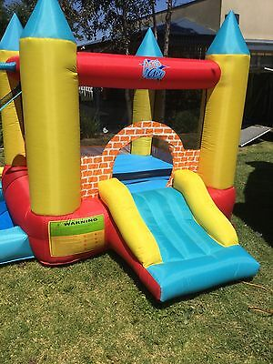 Yellow Brick Bouncer Jumping Castle Hire Only Melbourne Children Party Hire