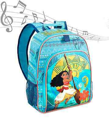 Authentic Disney Moana Musical Backpack Nwt