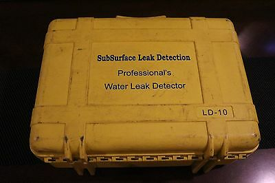 SubSurface Instruments Professionals Water Leak Detector LD-10