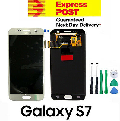 LCD Display Digitizer Touch Screen Assembly for Samsung Galaxy S7 G930 White