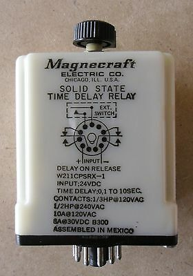 Magnecraft Electirc Co. W211CPSRX-1 Solid State Time Delay Relay 24VDC New