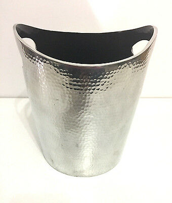 Silver Hammered Wine Cooler