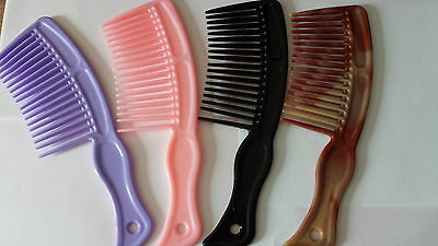 COMB - Heat-resistant Large Wide Tooth Comb Detangling Hairdressing Comb