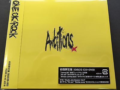 NEW ONE OK ROCK AMBITIONS Limited Edition Album CD & DVD With Obi from JAPAN