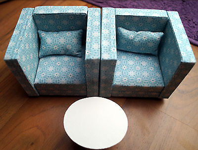Sessel / armchairs f. Barbie, Fashion Royalty, Hot Toys, Phicen, 1/6 scale