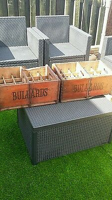 Bullards old beer crates