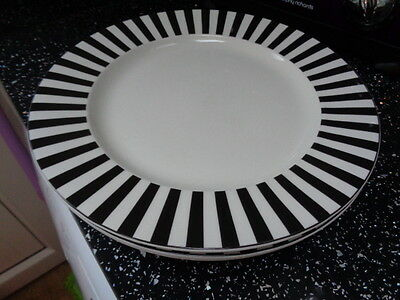 Marks And Spencer Ruby Dinner Plates X 3