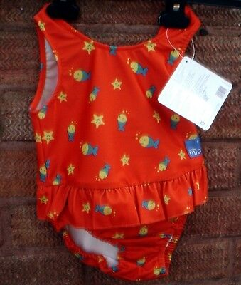 BABY GIRLS NAPPY SWIMSUIT AGE 9-12kg     BRAND NEW