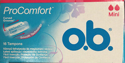 48x Tampons - Procomfort Curved Grooves Mini