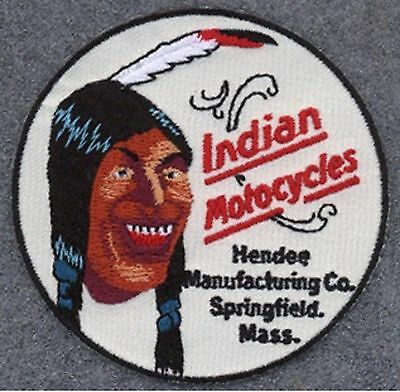 Indian Motorcycle 3 inch Laughing Indian patch. Nice New
