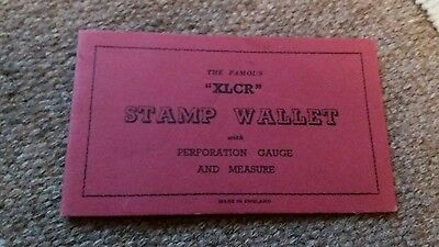 XLCR Stamp Wallet with Royaume du Laos Elephant Stamps - Mint Condition