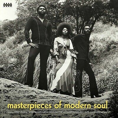 MASTERPIECES OF MODERN SOUL Various Artists NEW 70s SOUL LP VINYL NORTHERN (KENT