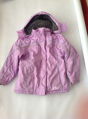 Girls ski suit age 9-10 years. jacket and saloupettes.