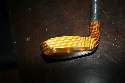 VINTAGE Tom Auchterlonie St. Andrews Wood Shaft Wooden Putter Excellent