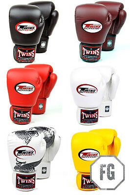 Twins Velcro Muay Thai Boxing  Gloves