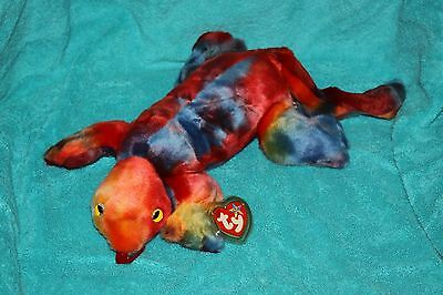Retired Ty Beanie Buddy Lizzy The Lizard  Mint With Tags