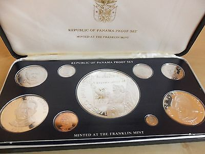 The Coinage Of Panama 1978 Proof Coin Set