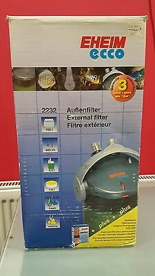 Eheim ecco 2232 external canister filter for aquariums