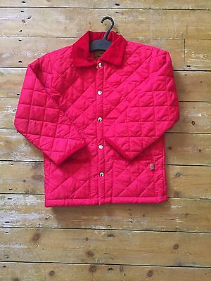 TROTTERS Dunwoody Kids Red Padded Jacket Age 8-10