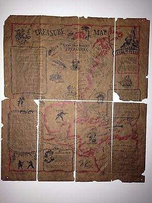 Treasure Map Sunken And Buried // 1965 - Usa