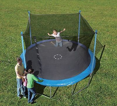 Trainor Sports 12-Feet Trampoline and Enclosure Combo