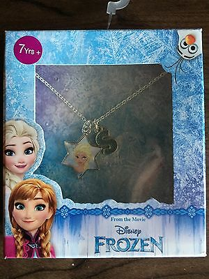 Disney Frozen Necklace With Letter S