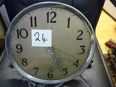 Original 1930s Longcase Grandfather Clock Weight Driven Chime Movement+Dial(24)