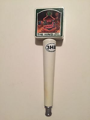 Three Heads Brewing The Kind IPA Beer Tap Handle 3HB India Pale Ale