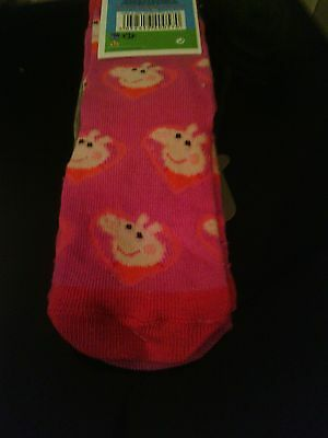 New 2 pairs of Peppa Pig ankle socks