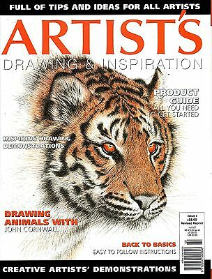 Artist's Drawing & Inspiration issue 2 - tips & ideas