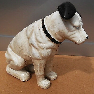 Fantastic Model of the HMV `Nipper`Dog STATUE  5 kg Moneybox terrier jack russel
