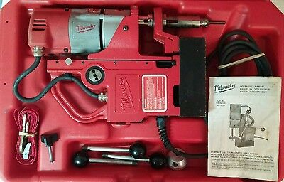 Milwaukee 4270-20 Compact Electromagnetic Heavy Duty Drill Press - Free Shipping