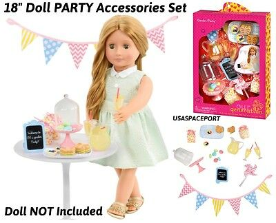 """18/"""" Doll Deluxe Camping TEEPEE TENT SET Guitar Food+Dishes for American Girl boy"""