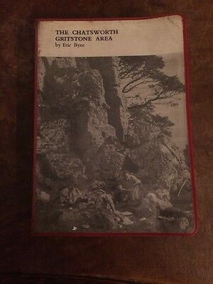 The Chatsworth Gritstone Area By Eric Byne (1970 Paperback Book)