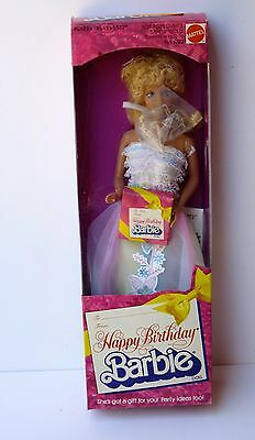 Mattel 1980 Happy Birthday Barbie Doll #1922 NIB EXCELLENT MINTY
