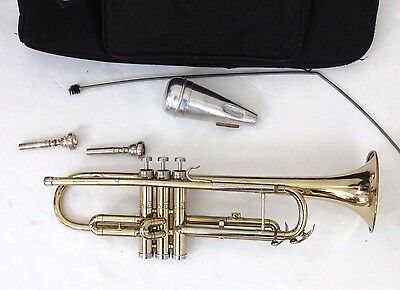 Shooting Stars Conn Director Trumpet w/ Case + 2 Mouthpiece