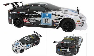 New Himoto 1:10 Scale Brushless 4wd On Road Racing Lexus LFA 5101BL RC Car