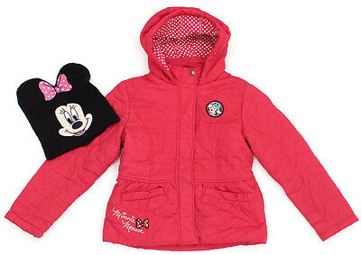 C&A DISNEY Anorak Winterjacke Steppjacke Minnie Maus im Set - 134